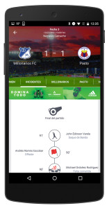 Increased Soccer Fan engagement through real time game updates