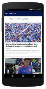 Increased Soccer Fan engagement through social media and club news updates seen globally by soccer fans in the Soccer Fan App built by TangoCode